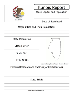 Illinois State Prompt Writing Template