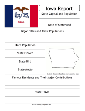 Iowa State Prompt Writing Template