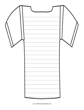 Jersey Writing Template Writing Template