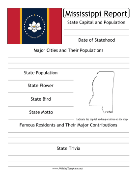 Mississippi State Prompt Writing Template