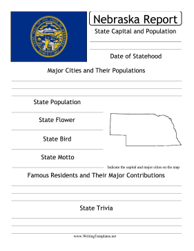 Nebraska State Prompt Writing Template