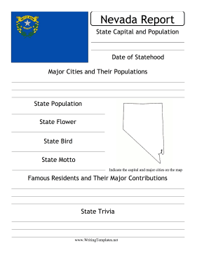 Nevada State Prompt Writing Template
