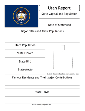 Utah State Prompt Writing Template